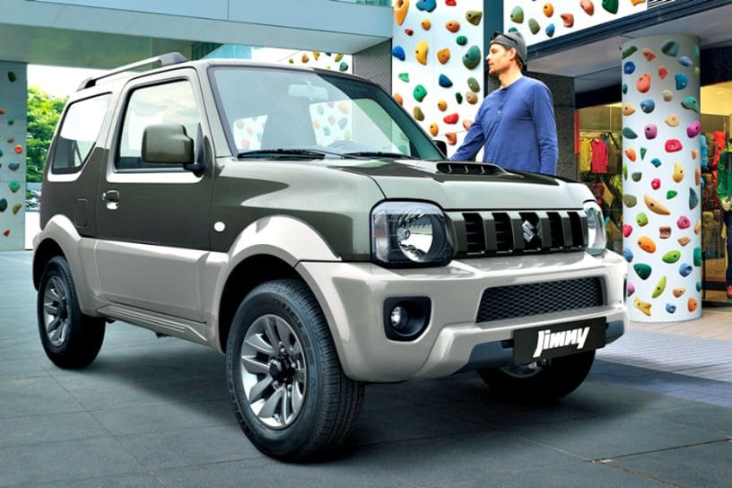 New Suzuki Jimny Global Debut Likely In Late 2018 Could Replace
