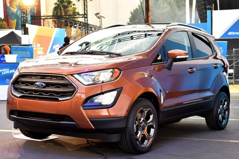Ford Ecosport With Sunroof Coming Soon Cardekho Com