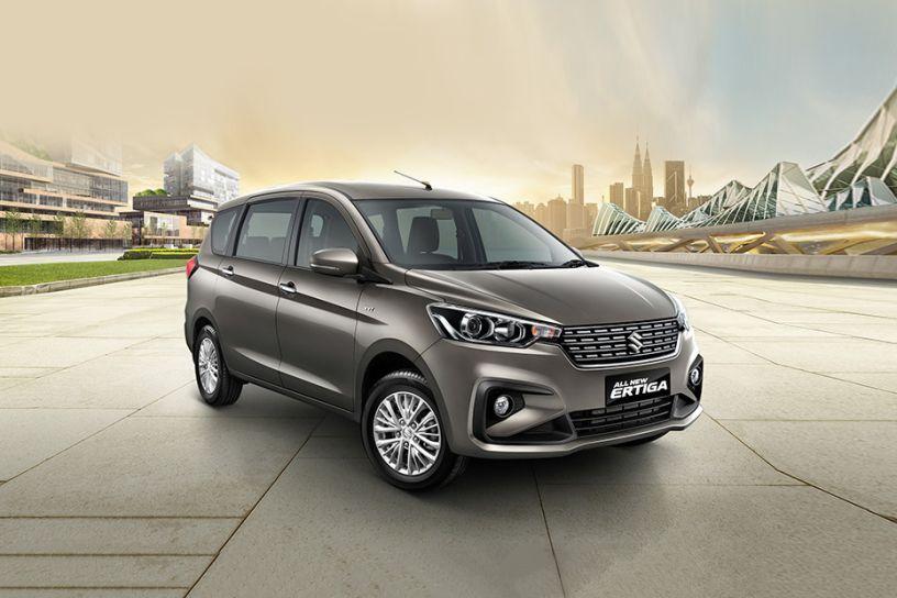 Indonesia-spec Maruti Suzuki Ertiga