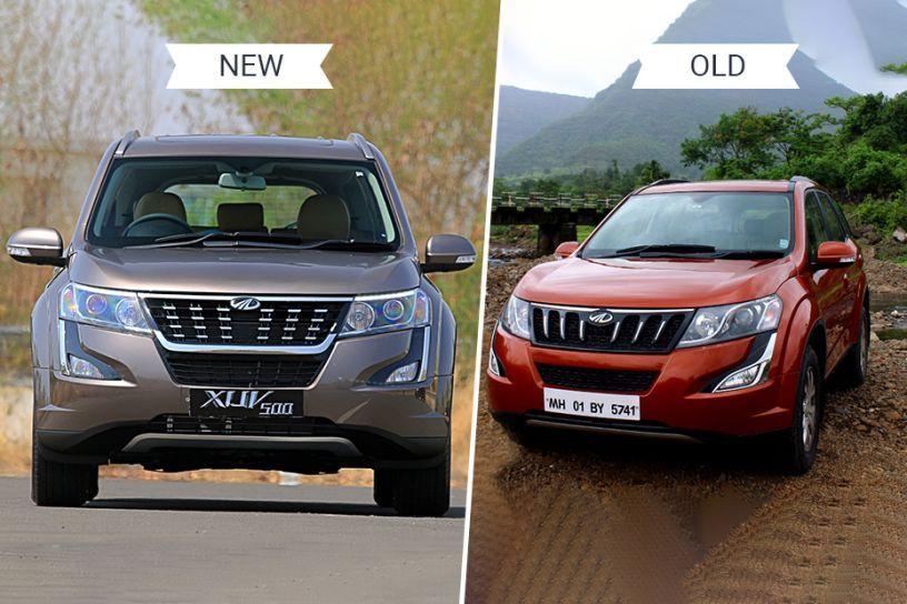 Mahindra XUV500 Old vs New