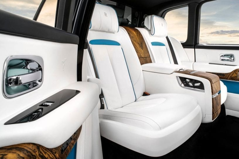 Rolls-Royce Cullinan Individual Rear Seats