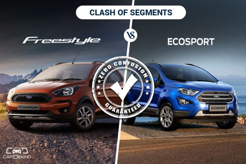 Clash Of Segments Ford Freestyle Vs Ford Ecosport Which Car To