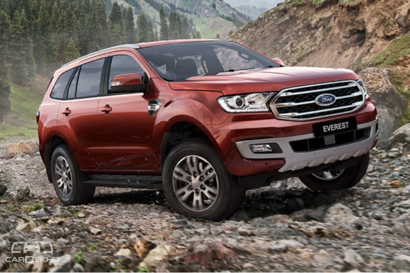 Ford Endeavour Facelift Revealed; India Launch Likely In 2019
