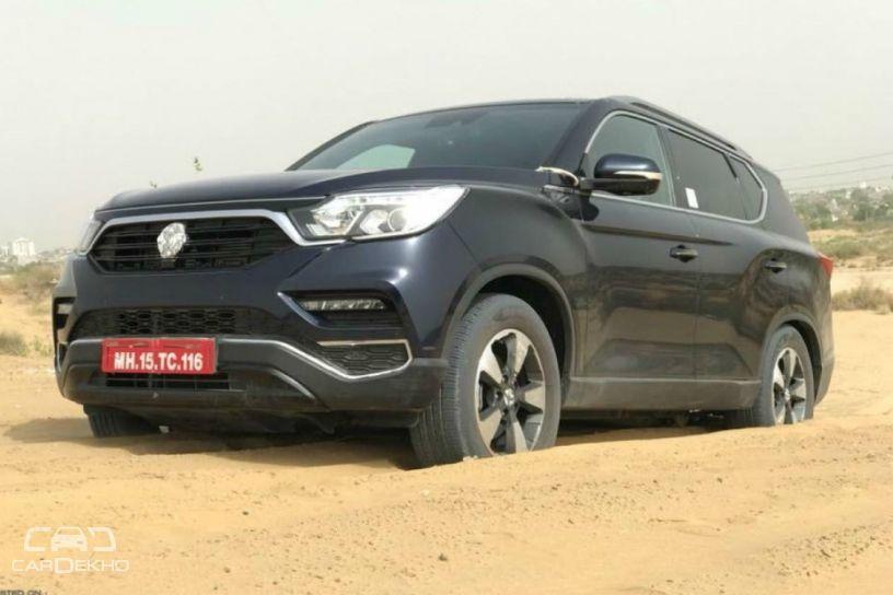 Mahindra G4 Rexton Testing In Desert