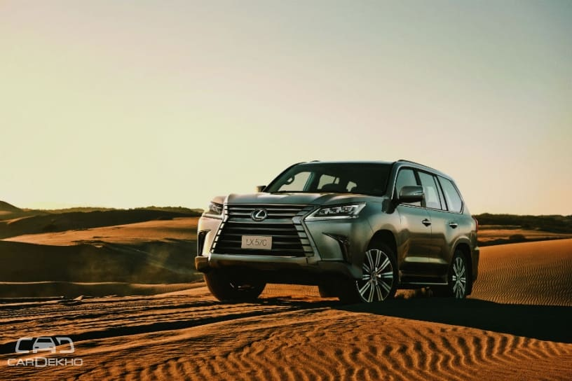Adding Another CBU Unit To Its Lineup In The Country, Lexus India Has  Launched The LX 570 SUV At A Price Of Rs 2,32,94,000 (ex Showroom) With  Bookings ...