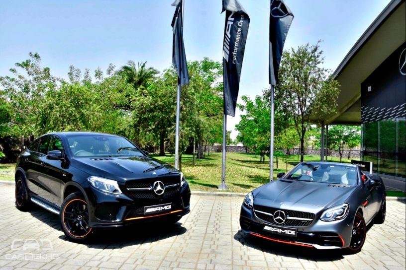 Mercedes-AMG GLE 43 4MATIC 'OrangeArt' And SLC 43 'RedArt'