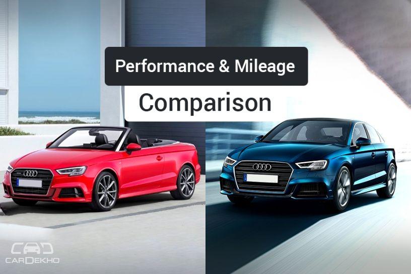 Audi A3 vs Audi A3 Cabriolet