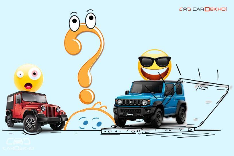 Suzuki Jimny and Mahindra Thar
