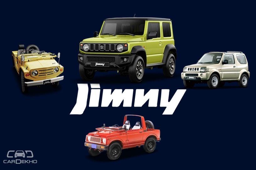 Suzuki Jimny Here S How The Tiny 4x4 Has Evolved Cardekho Com