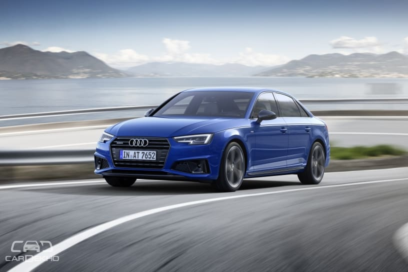 2019 audi a4 facelift revealed and the changes are. Black Bedroom Furniture Sets. Home Design Ideas