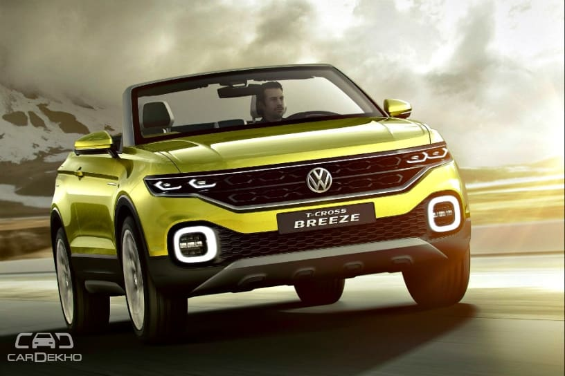 Image result for volkswagen T-CRoss breeze cardekho