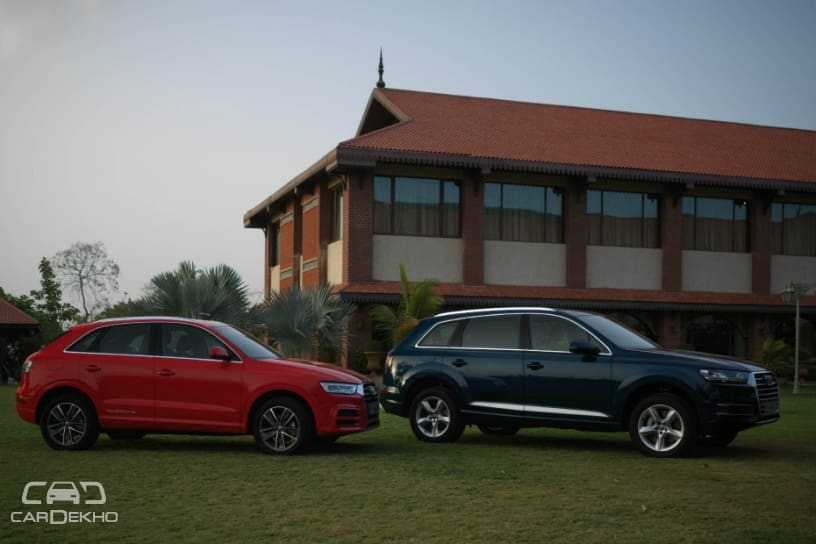 Audi Q3 and Q7 Design Editions