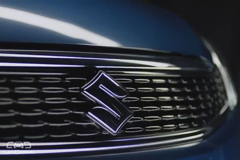 Redesigned front grille of the Ciaz facelift