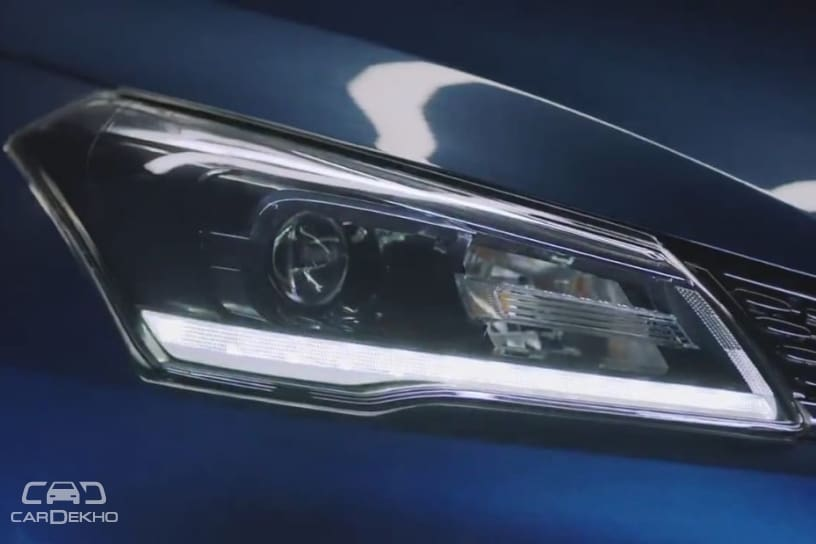 Headlamp unit of the Ciaz facelift