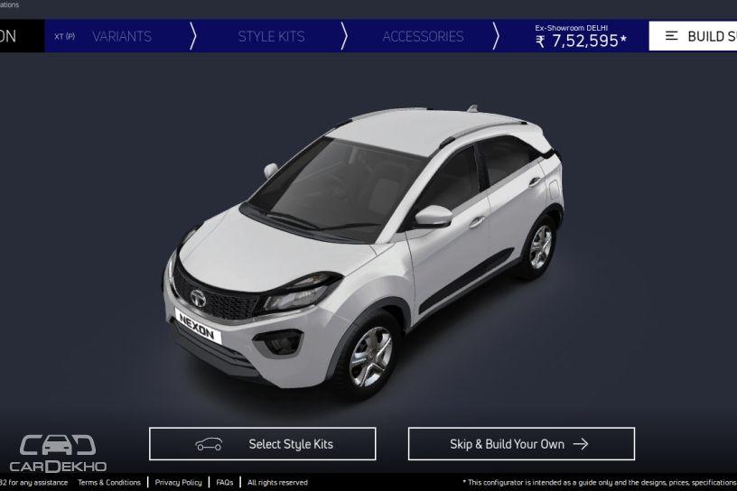 Tata Nexon's Imaginator configurator