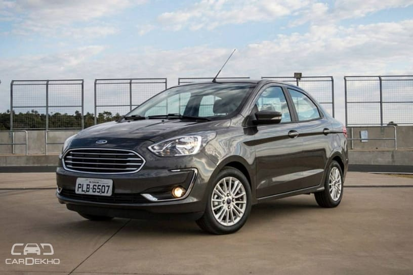 India Bound Ford Aspire Facelift Launched In Brazil Cardekho Com