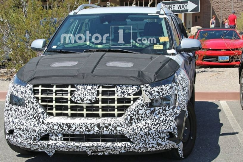 Mysterious Hyundai Suv Spied Could It Be India Bound Carlino