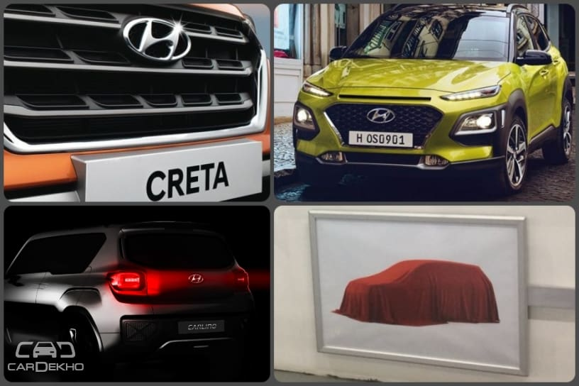 8 Upcoming Hyundai Cars: New Santro, Carlino, Creta, Grand i10 & More