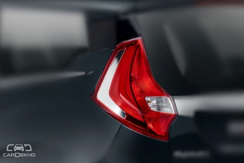 Tail lamp of production-spec Marazzo