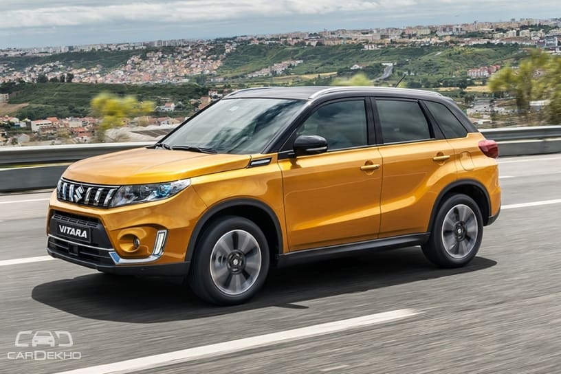 2019 Suzuki Vitara Facelift Revealed Cardekho Com