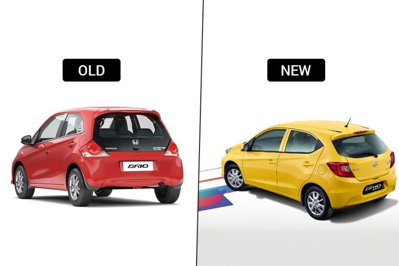 Honda Brio: Old vs New