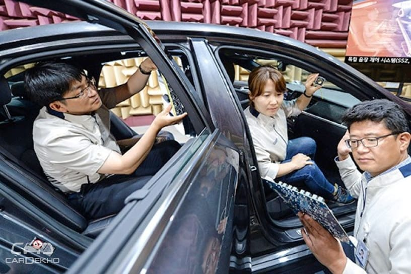 Hyundai Separate Sound Zone Audio System