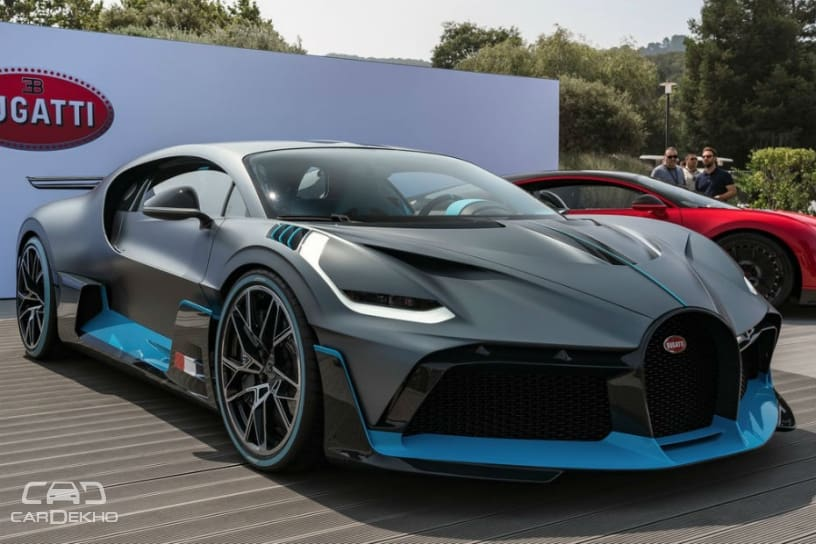 Rs 40 Crore-Bugatti Divo Sold Out Before Launch