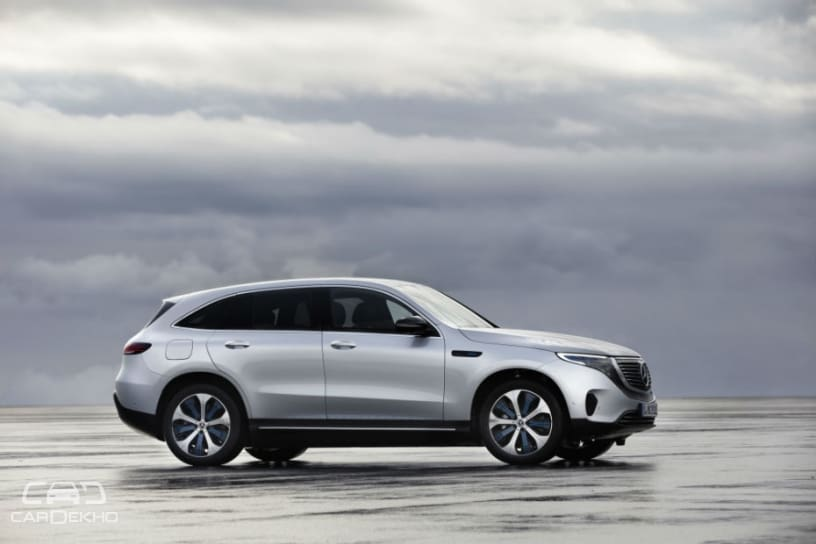 Mercedes-Benz EQC Unveiled; Rivals Tesla Model X, Audi e-tron