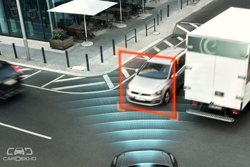 Volvo autonomous braking system