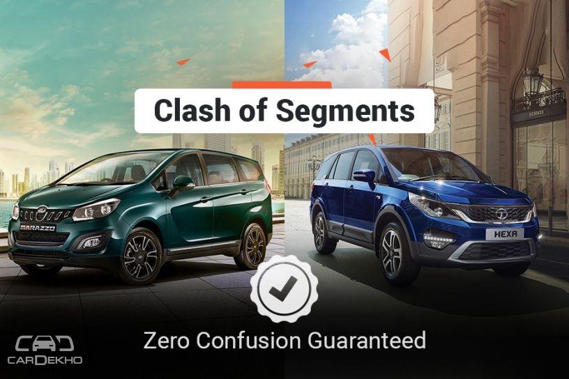 Clash Of Segments: Mahindra Marazzo vs Tata Hexa - Which Car To Buy?