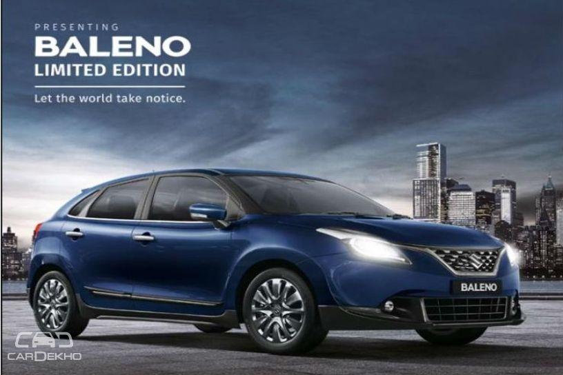 Maruti Suzuki Rolls Out Limited Edition Baleno Cardekho Com