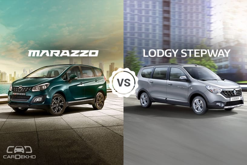 Mahindra Marazzo vs Renault Lodgy: Which MPV offers more space?