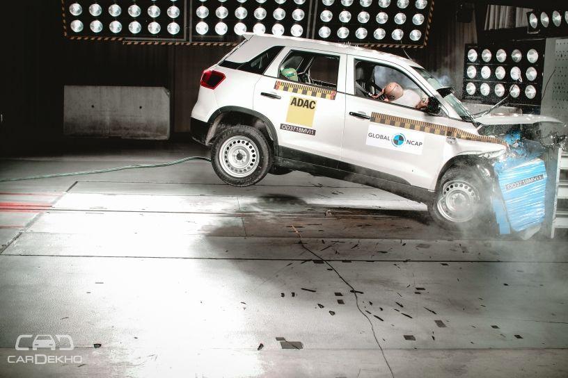 Maruti Vitara Brezza Crash Test