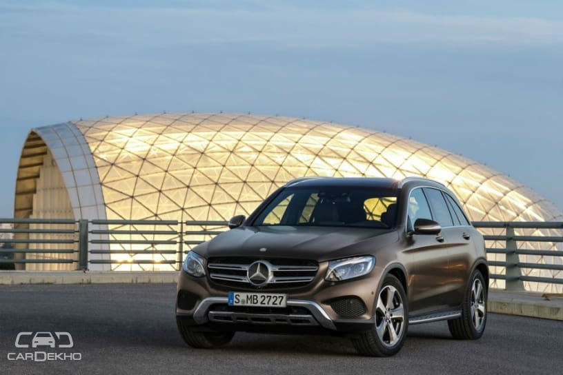 Mercedes-Benz GLC For The US To Be Exported From India