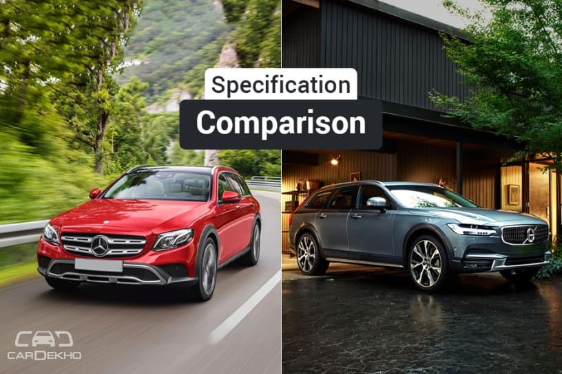 Mercedes-Benz E-Class All-Terrain Vs Volvo V90 Cross Country