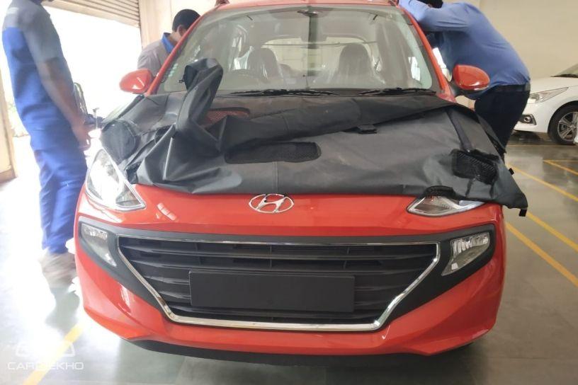 New Hyundai Santro 2018 Ah2 Hatchback Spied Undisguised Cardekho Com