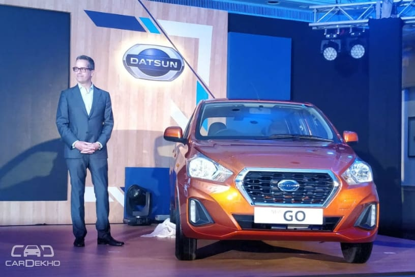 2018 Datsun GO, GO+ Plus Facelift Launched; Price Starts At Rs 3.29 Lakh
