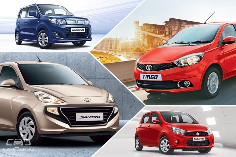 Spec Comparison Hyundai Santro 2018 Vs Maruti Celerio Vs Tata Tiago