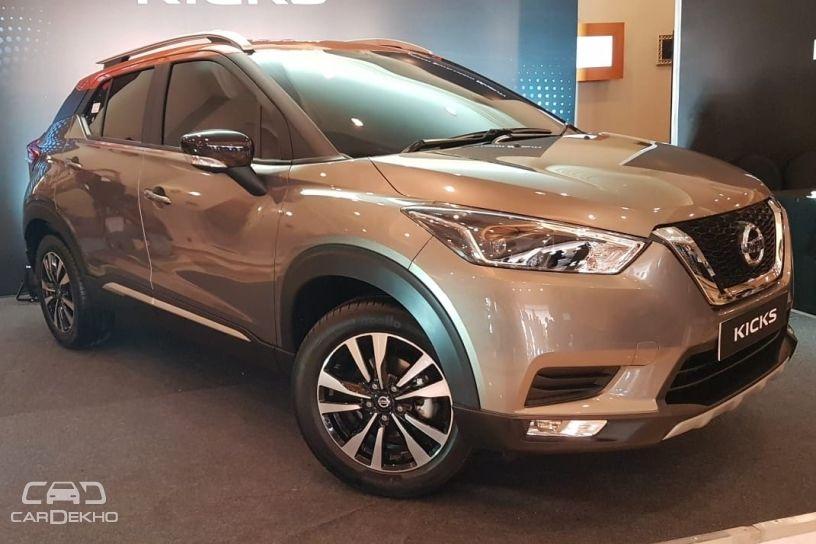 India-spec Nissan Kicks Unveiled; Will Rival Hyundai Creta, Renault Captur