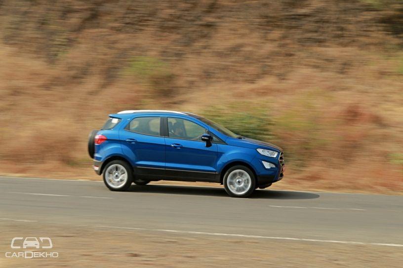 Tata Nexon Petrol Vs Ford EcoSport Petrol: Real-world Performance And Mileage Comparison