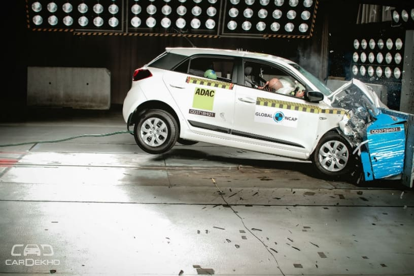 Made-In-India Hyundai Elite i20 Gets 3-Star Safety Rating In Global NCAP Crash Test