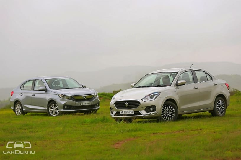 Cars In Demand: Maruti Dzire, Honda Amaze Top Segment Sales In November 2018