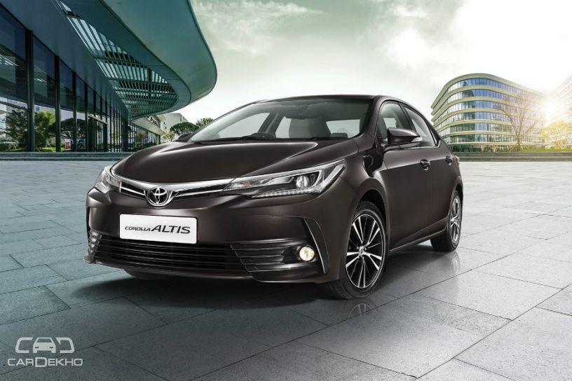 India-spec Toyota Corolla Altis (present)
