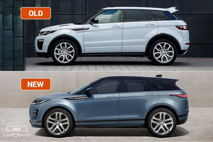 Evoque Old vs New