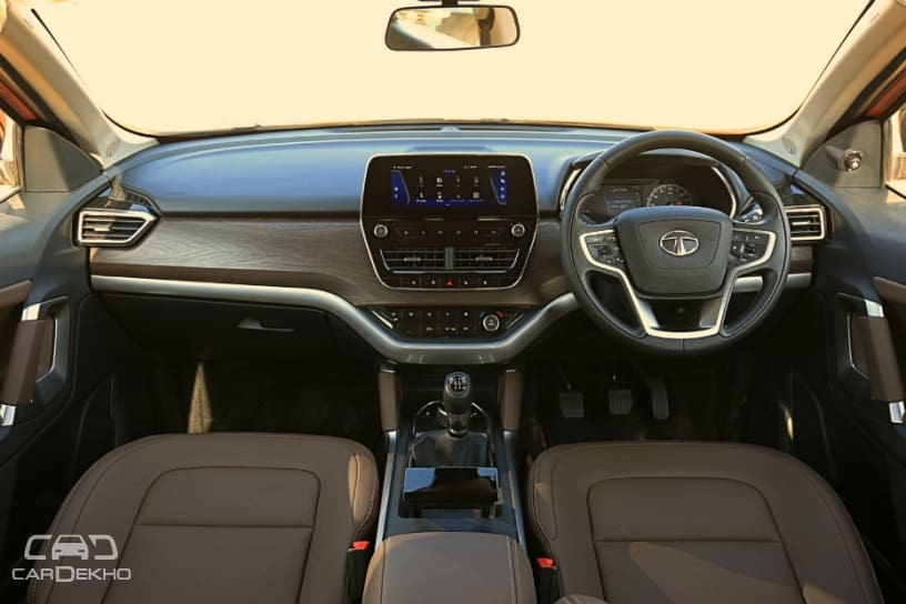 Tata Harrier SUV: In Pictures