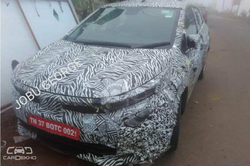 Tata 45X Hatchback Spied