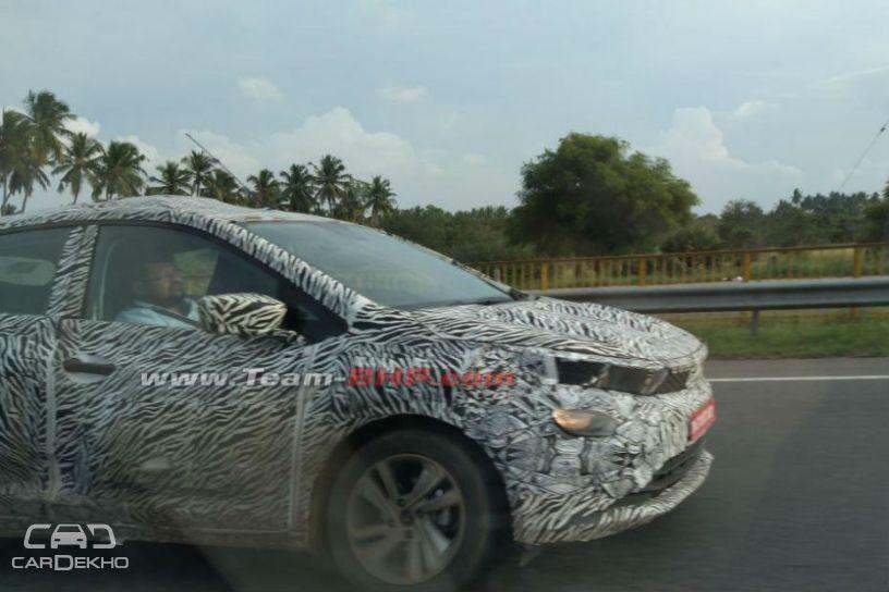 Tata 45X Hatchback Spied Testing Again