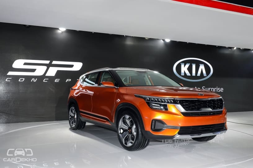 Kia Sp Based Suv Price Range Revealed Launch Before Diwali 2019