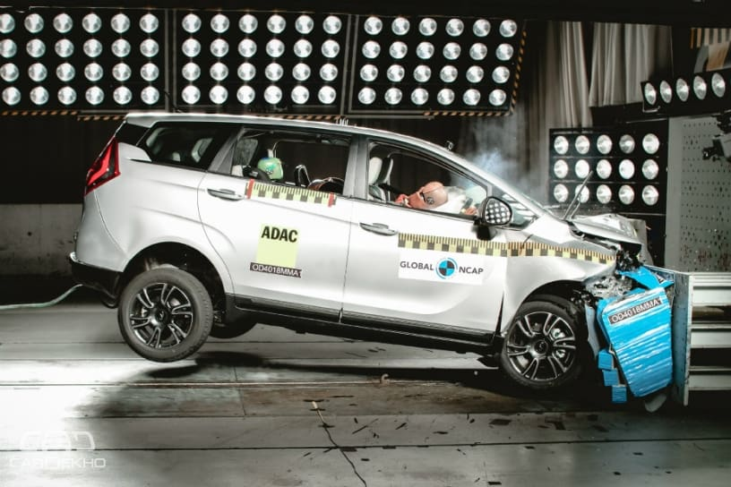 Mahindra Marazzo Scores 4-Star Safety Rating In Global NCAP Crash Test
