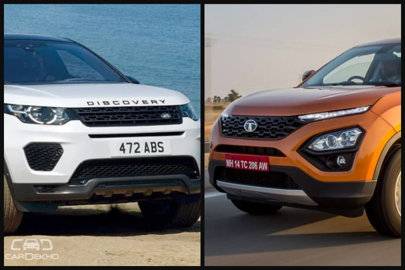 Tata Harrier vs Land Rover Discovery Sport: Basic Differences